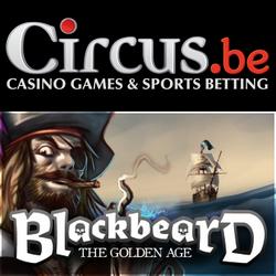 Blackbeard en 2 mobiele spellen nieuw bij Circus.be