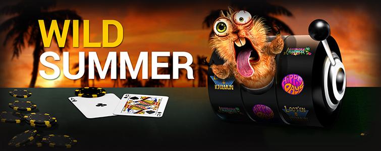 Wild Summer promotie bij Bwin.be