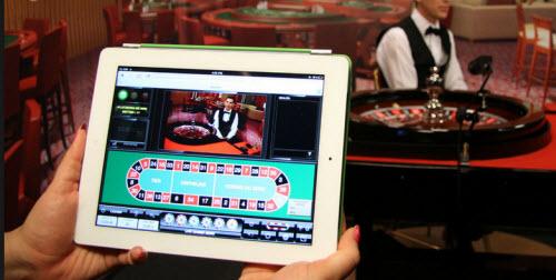 Oranje Casino op iPad